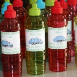 water bottle party favors