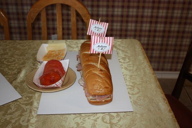 Sub sandwich boats